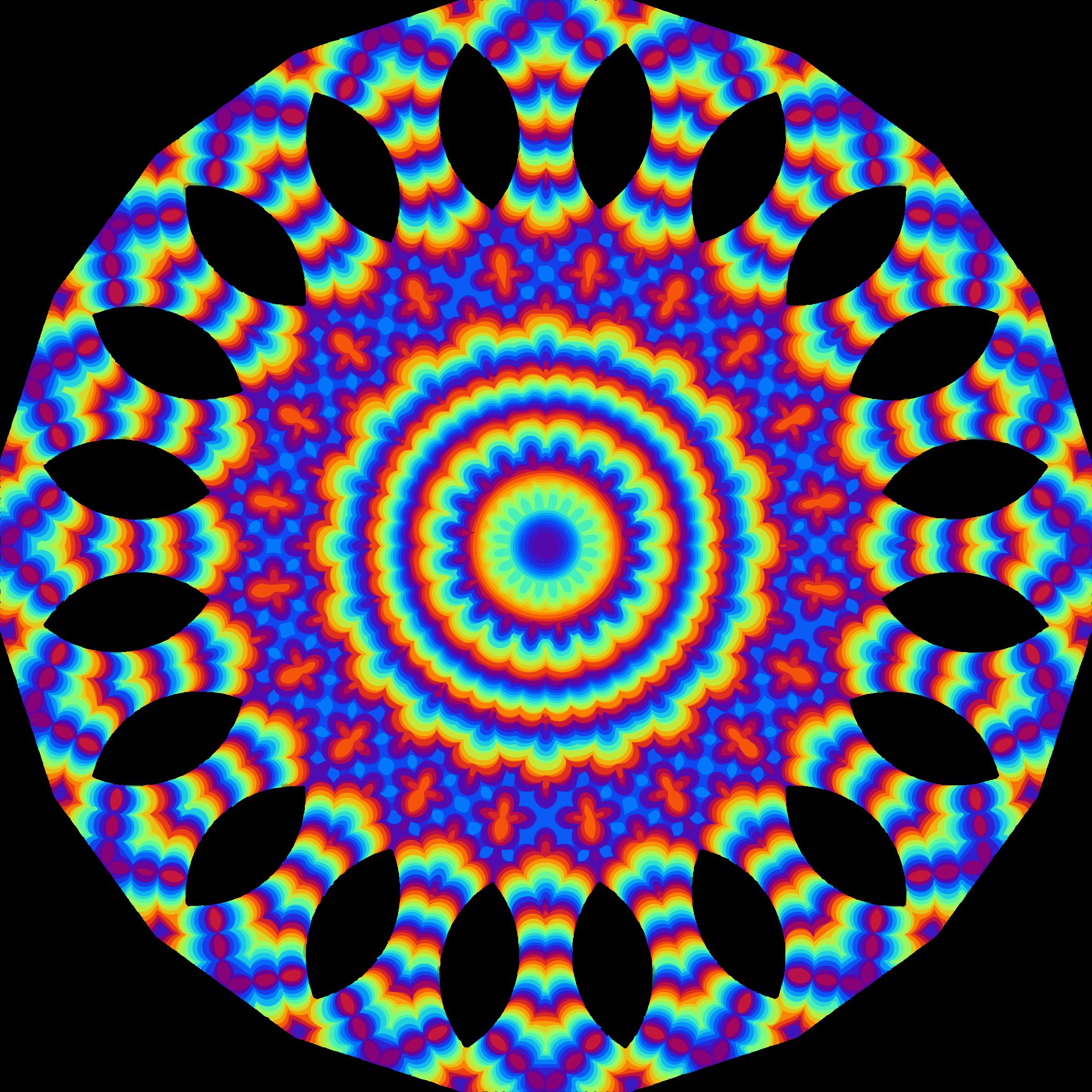 7 clipart colourful. Mandala big image png