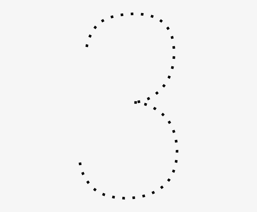 dotted line number. 7 clipart dot
