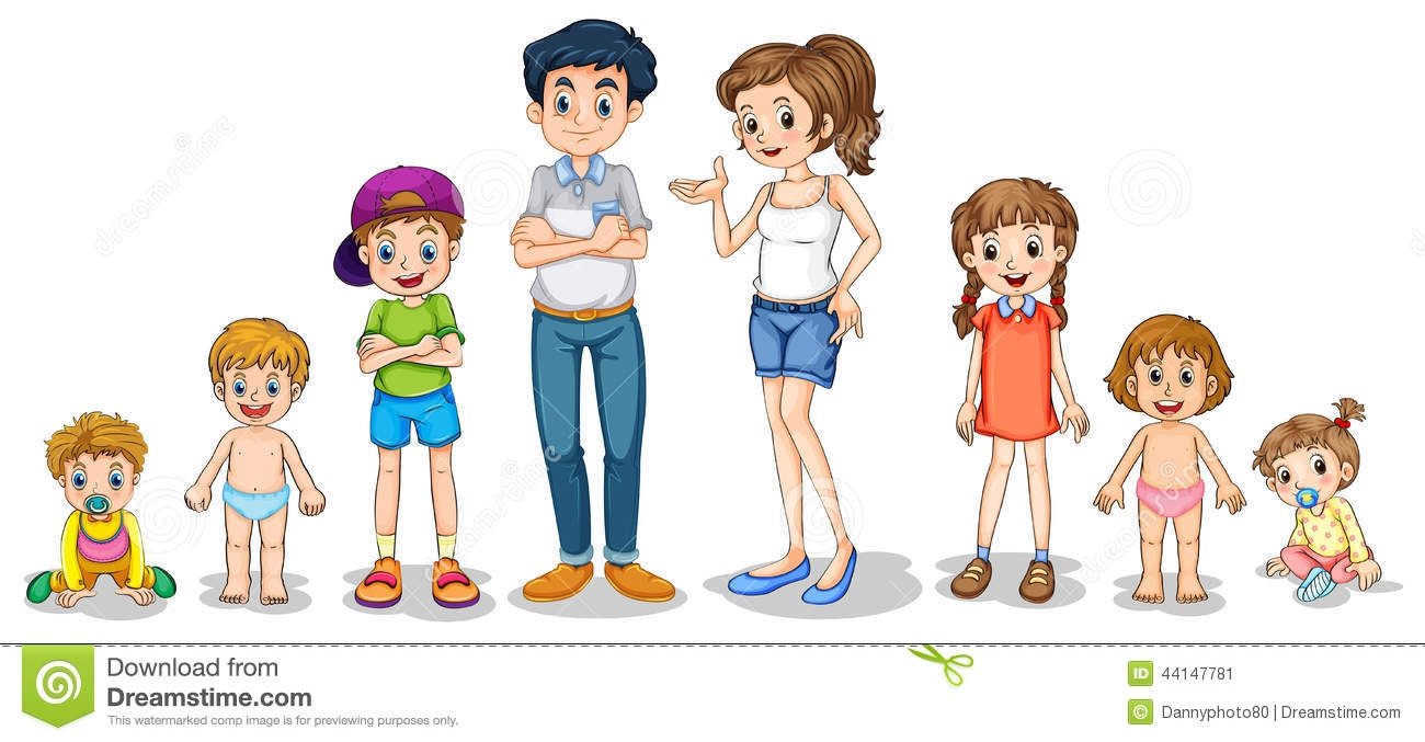 Members station . 5 clipart family member