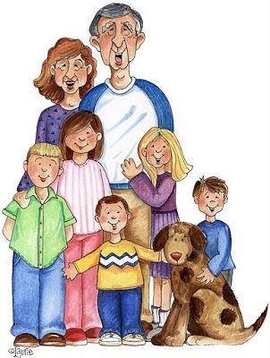 7 clipart family.  best familias images