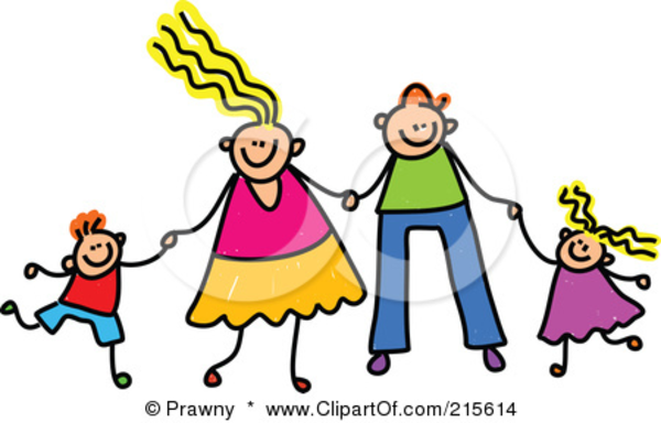 Free images at clker. 7 clipart family
