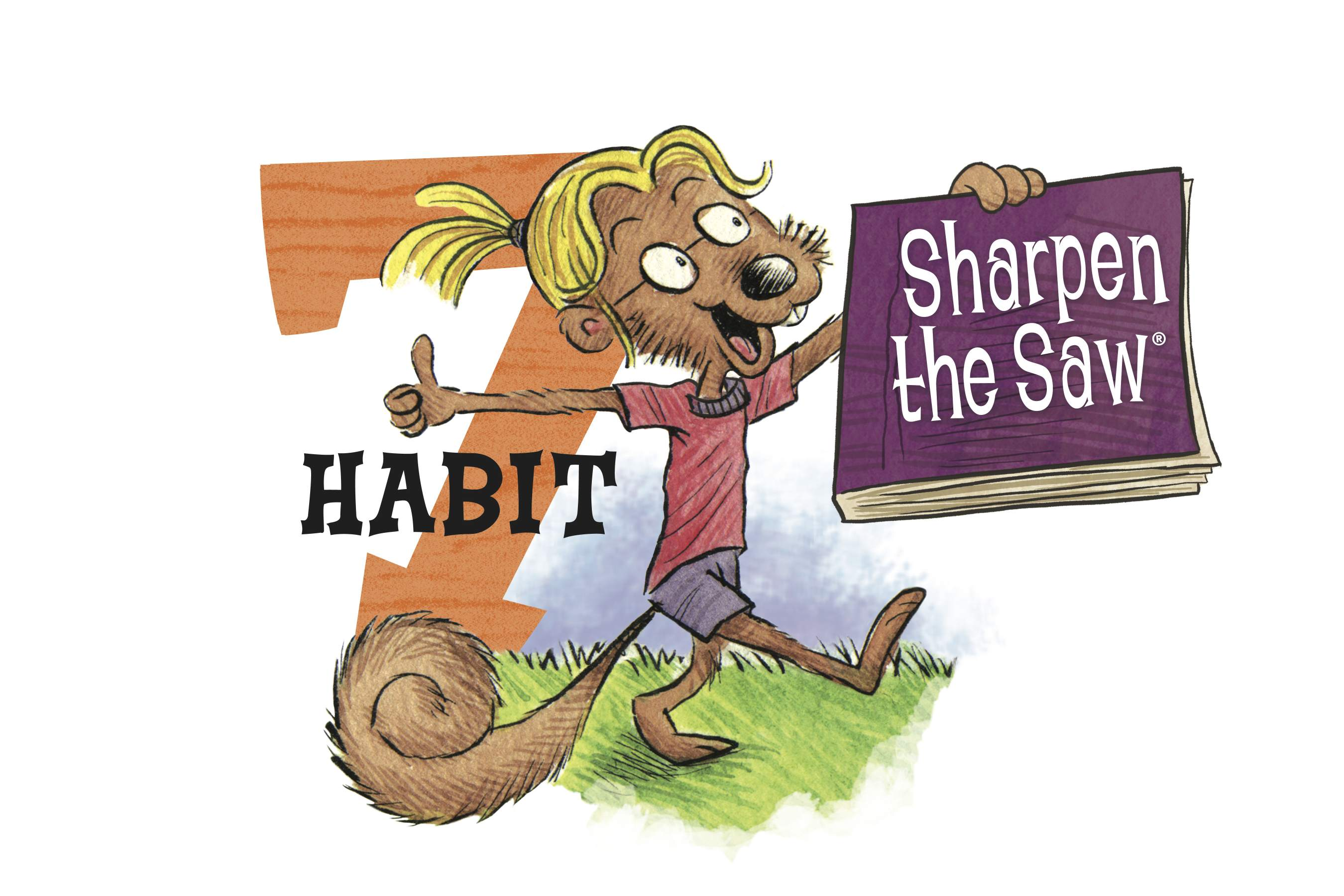 Preparatory academy the seven. 7 clipart habit