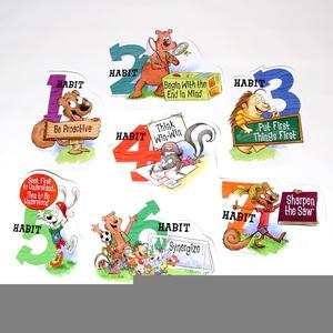 7 clipart habit. Seven habits happy kids