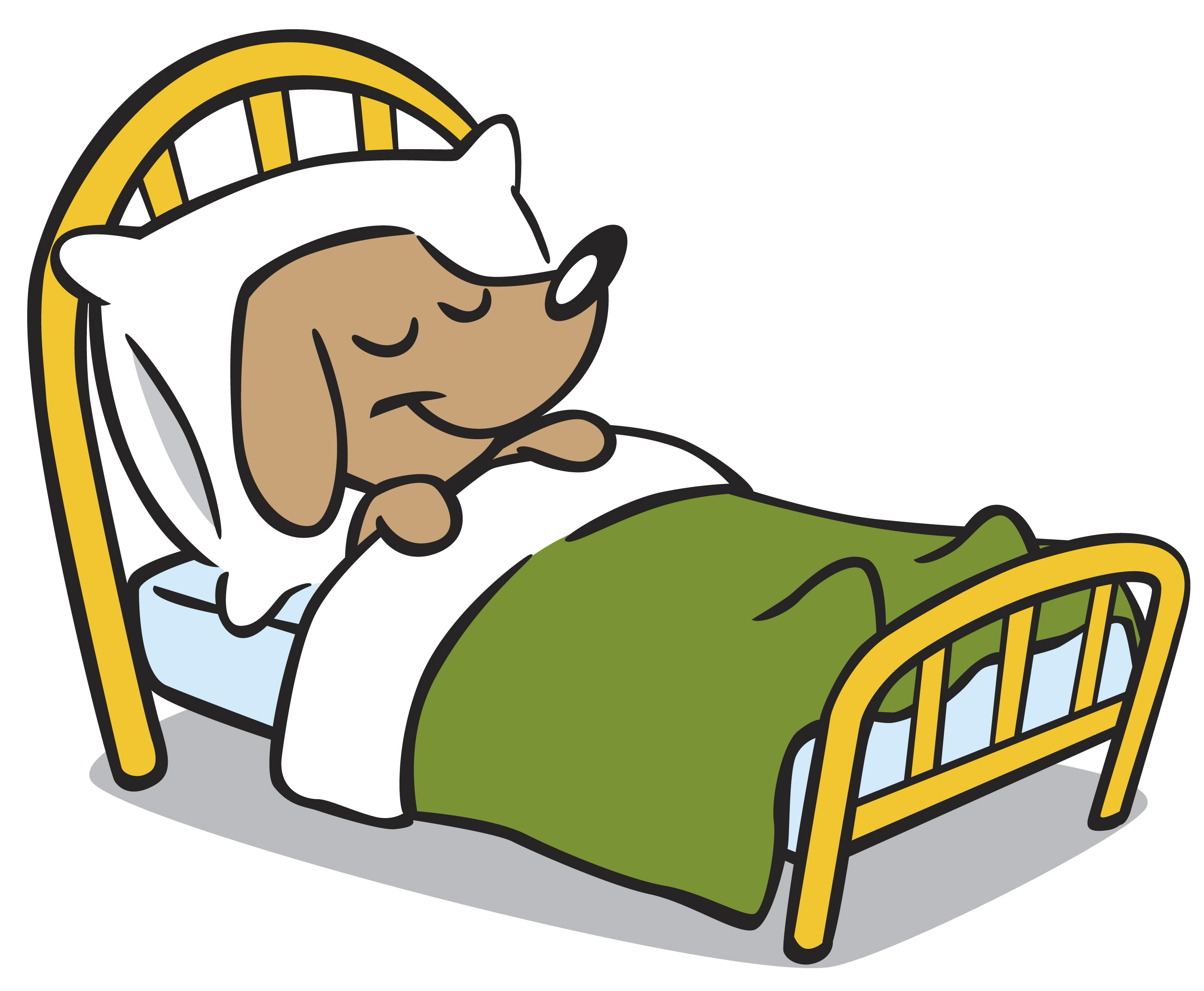 7 clipart kid. Going to sleep free