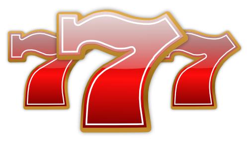 7 clipart lucky. Seven recreation games casino