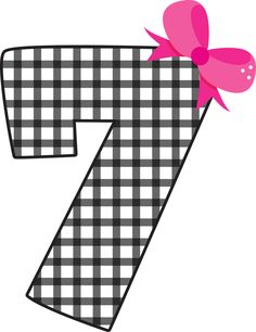 7 clipart number 7. Pin by mai nh