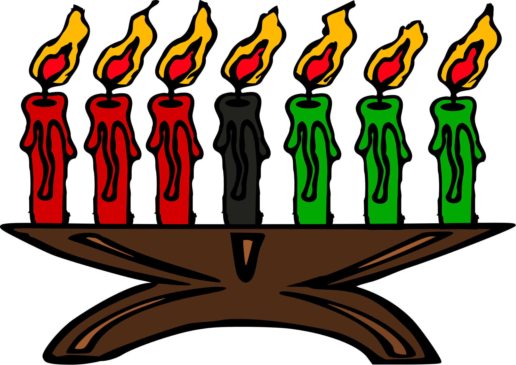 Kwanzaa celebration madison celebrate. 7 clipart object
