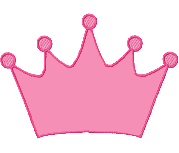 Crown station . 7 clipart pink