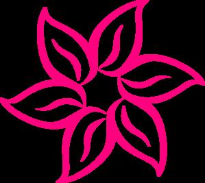 7 clipart pink. Flower clip art panda