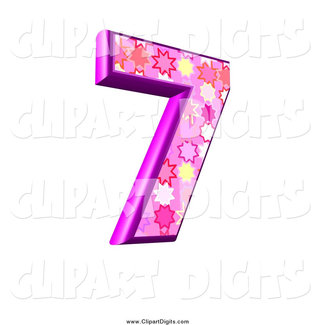 7 clipart pink. Clip art of a