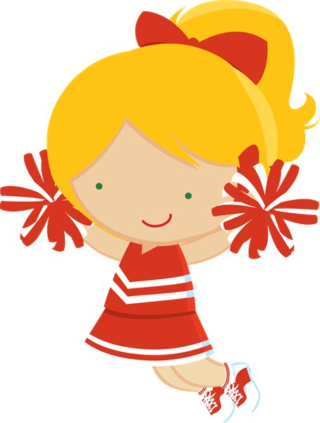Cheer clipart red.  best ready to