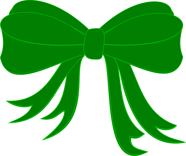 7 clipart ribbon. Pale green clip art
