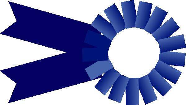 Blue large clip art. 7 clipart ribbon