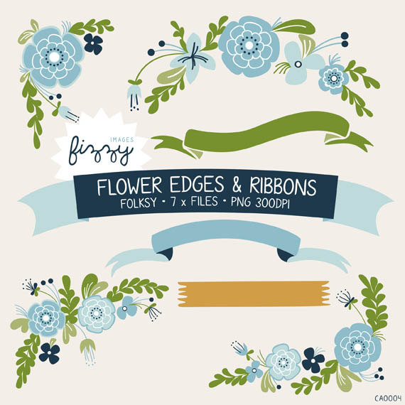 Png x flower decorations. 7 clipart ribbon