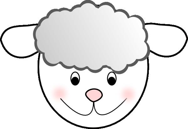 7 clipart sheep. Lamb print out smiling