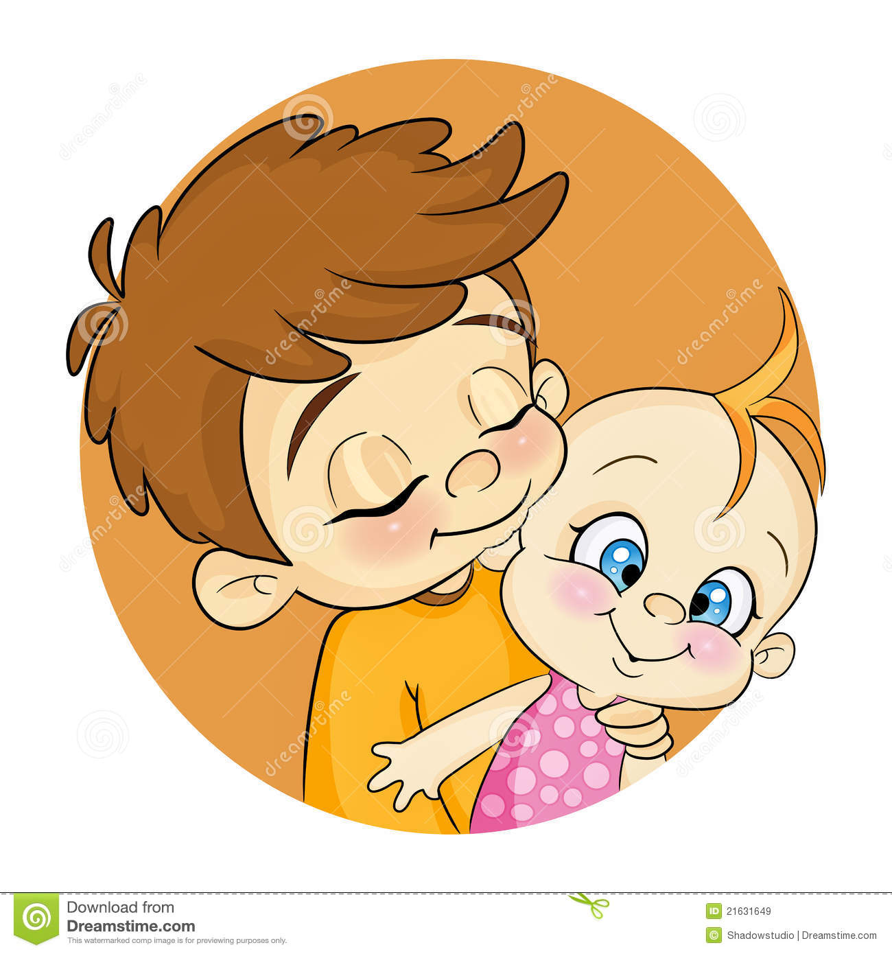 2 clipart sibling. Big brother cartoons