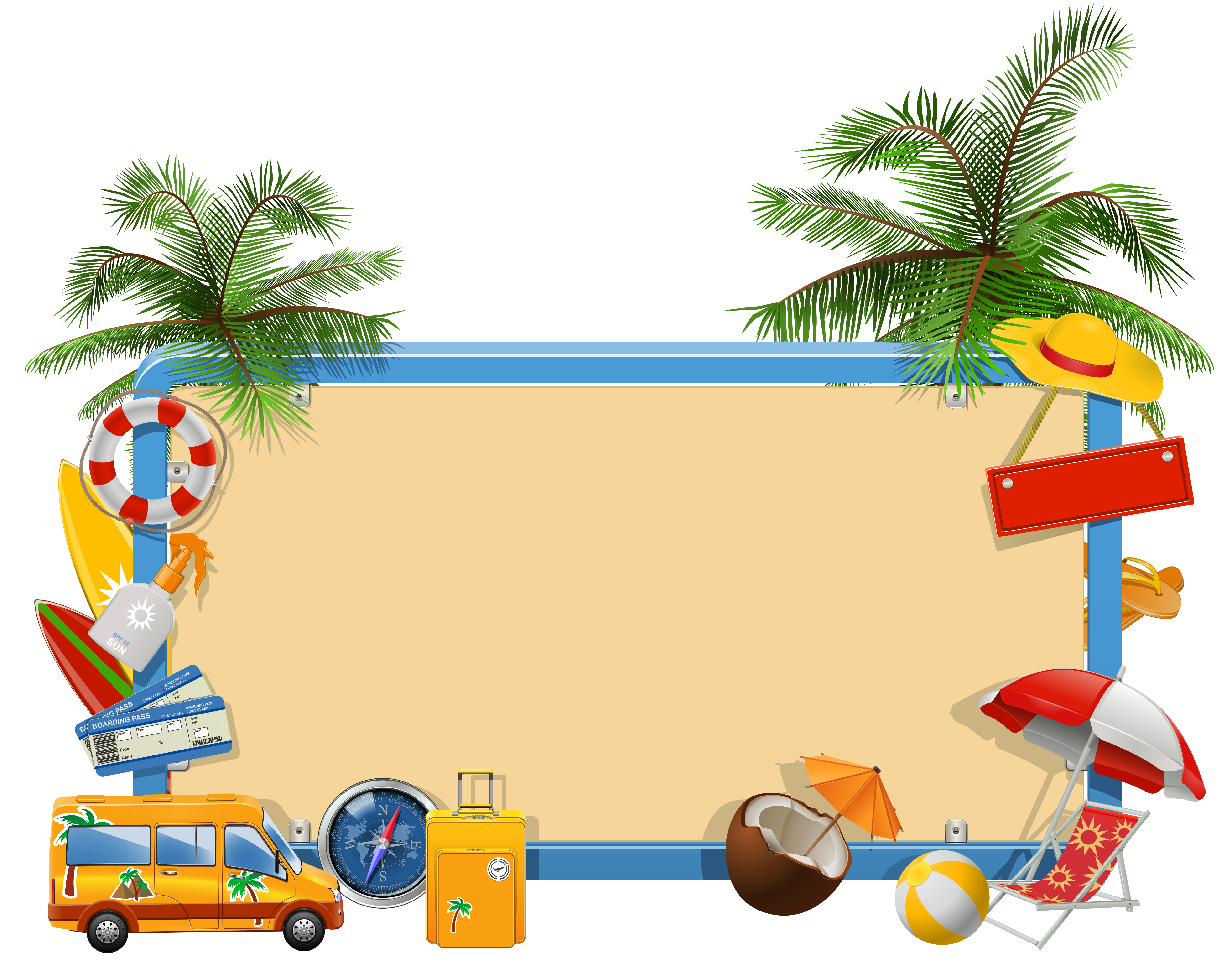 Holiday clipart tourist. Summer vacation png gallery