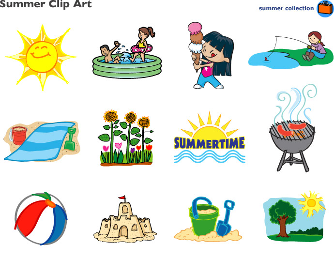 pictures clip art. Clipart summer summer season