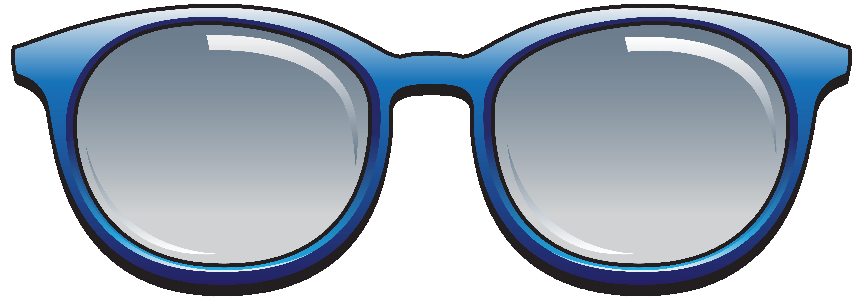 Blue sunglasses png image. Clipart summer sunglass