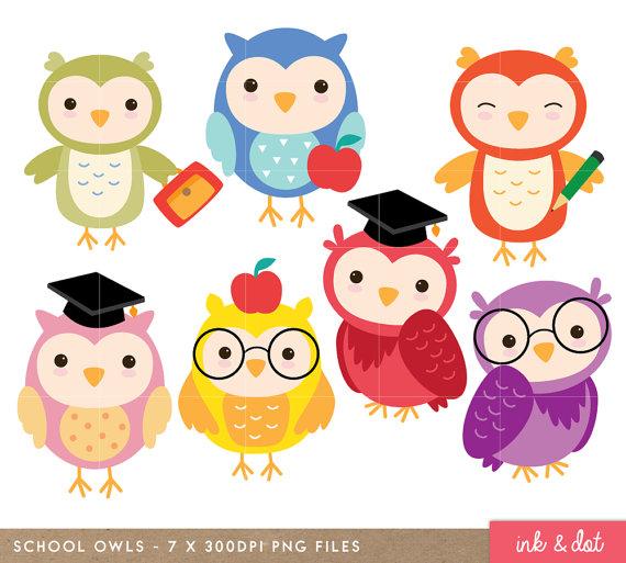 Owl clip art school. 7 clipart sweet