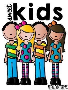 7 clipart sweet. Kids clip art freebie