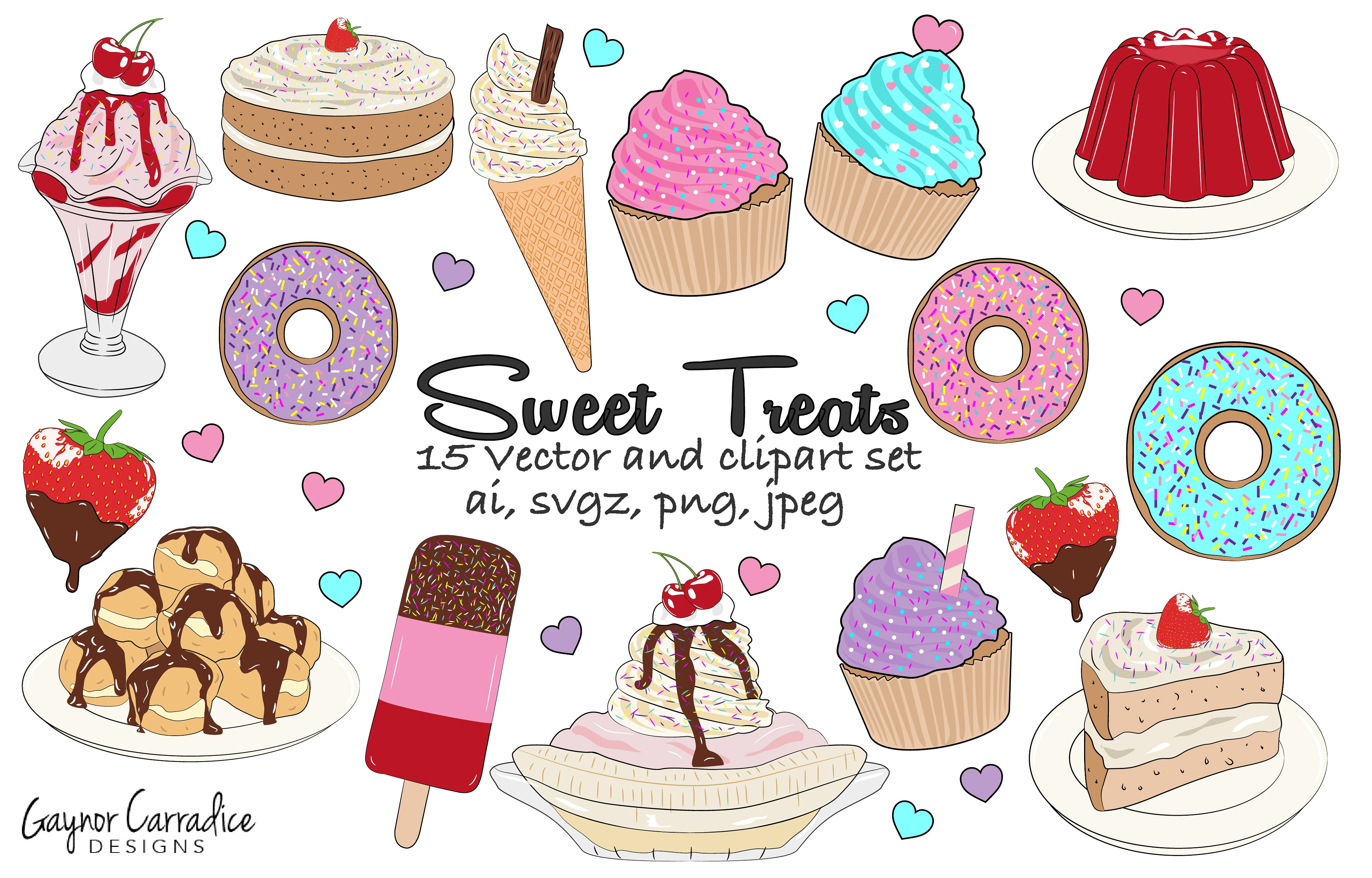 Treat station . 7 clipart sweet