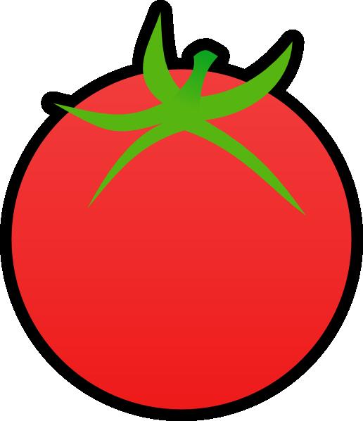 Clip art at clker. 7 clipart tomato