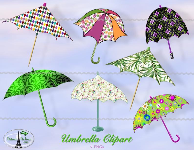 7 clipart umbrella. Rainy day parasol clip