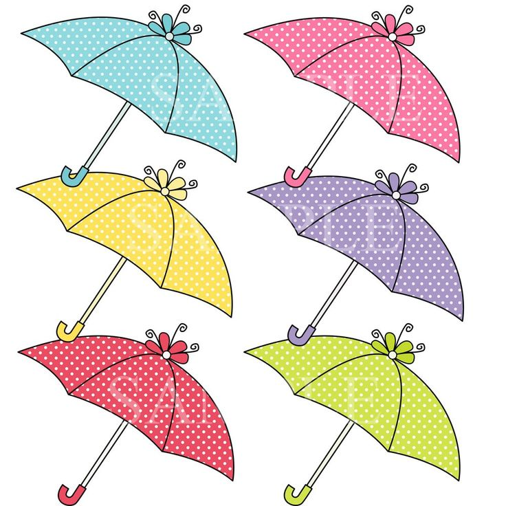 Coral pencil and in. 7 clipart umbrella