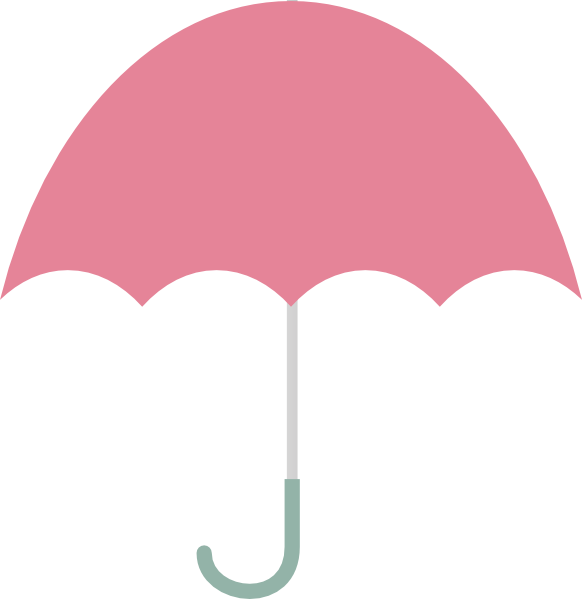 Pink clip art at. 7 clipart umbrella