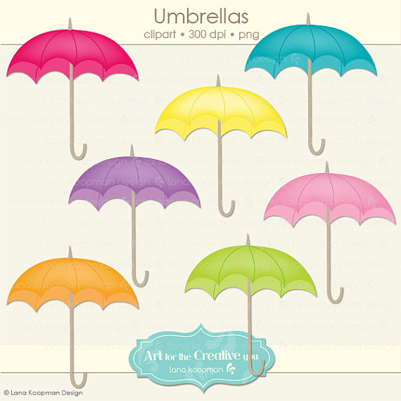 7 clipart umbrella. Seven pencil and in