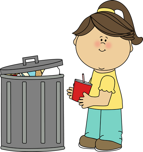 Pick up trash . 7 clipart wast