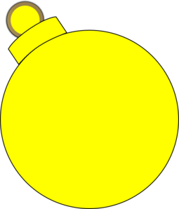 7 clipart yellow. Ornament clip art at