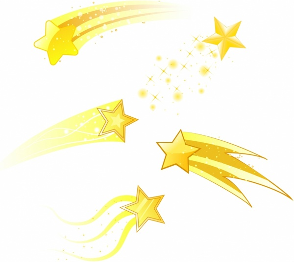 7 clipart yellow. Magical star free collection