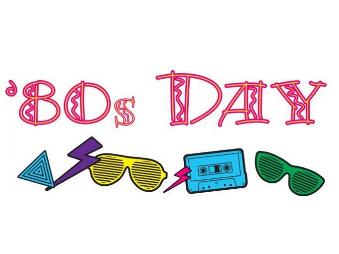 80's clipart 80 day