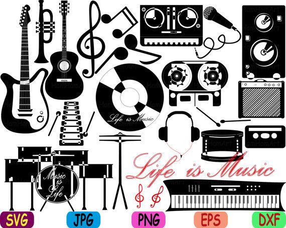 80's clipart 80 guitar. Rock music musical instruments