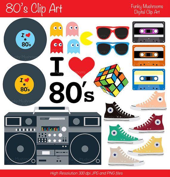 best s theme. 80's clipart 80 radio