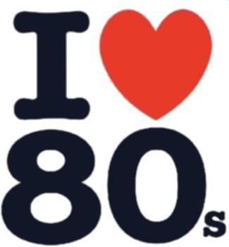 Top ten s love. 80's clipart 80 rock