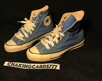 80's clipart blue sneaker.  s converse etsy