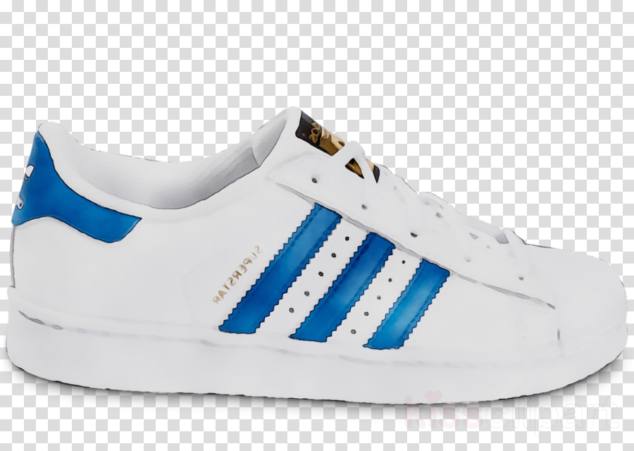 80's clipart blue sneaker. White background product transparent