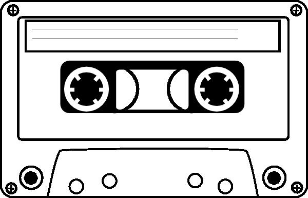 80's clipart cassete. Cassette tape clip art