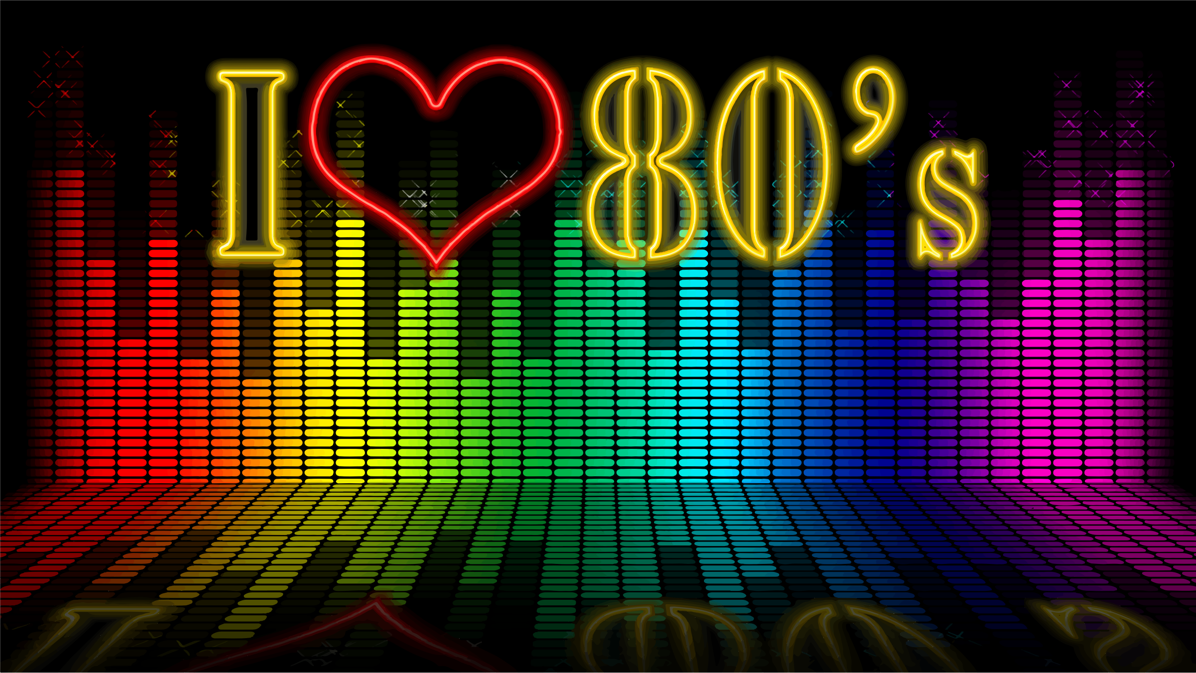 S icons png free. 80's clipart i love the 80