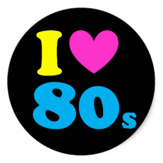s free download. 80's clipart i love the 80