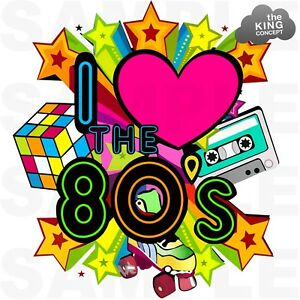 80's clipart i love the 80. Details about s retro