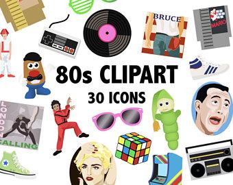 80's clipart kid shoe.  s etsy digital