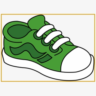 s one free. 80's clipart kid shoe