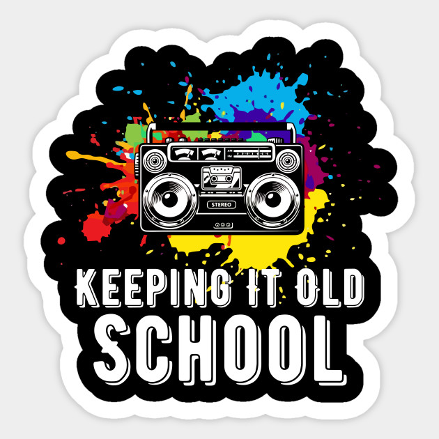 Keeping it s music. 80's clipart old school