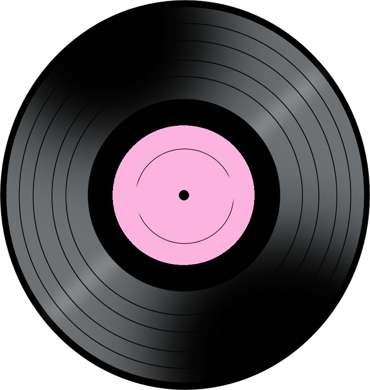 a music png. 80's clipart record
