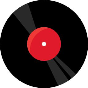 80's clipart record.  best themes s