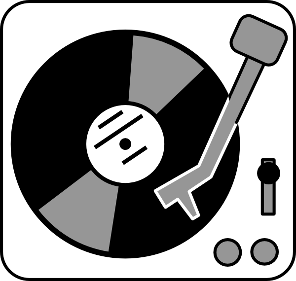80's clipart record. Player tattoos pinterest clip